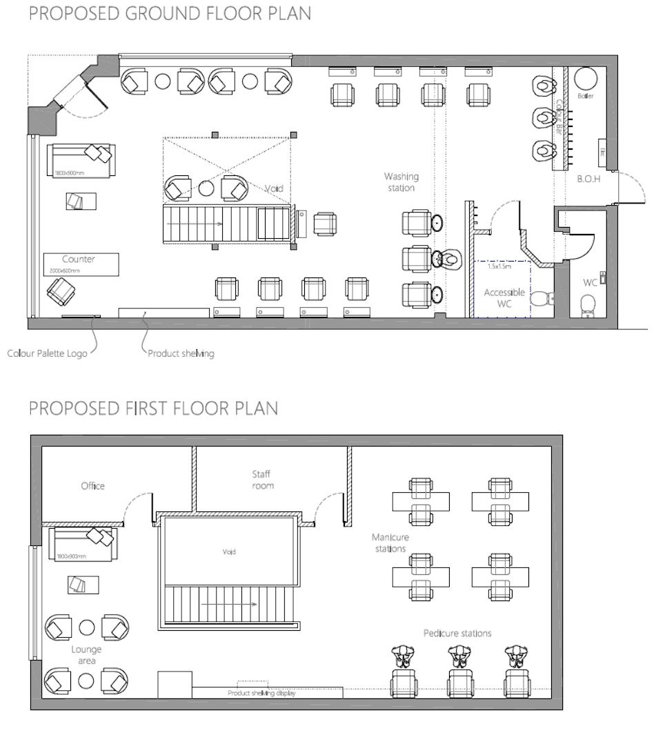 Planning Permission For Crowthorne Hairdressers Etplanning